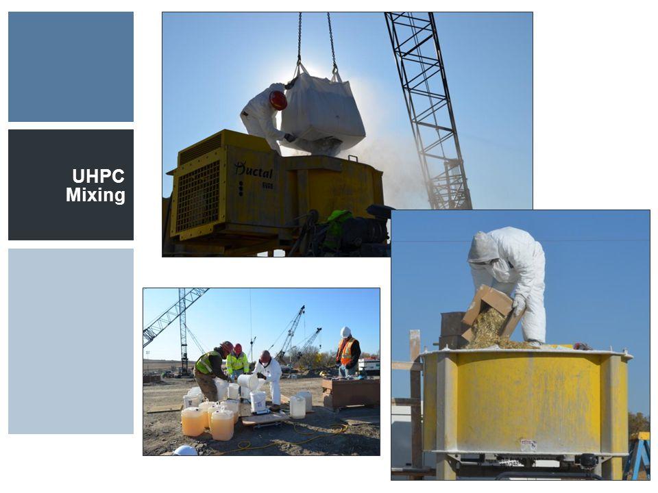 UHPC Mixing