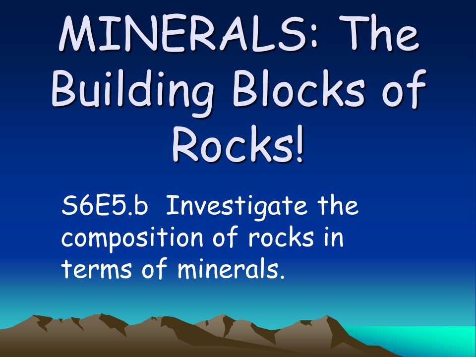 Where do we get minerals? Open pits-quarries (above ground) Mine shafts (below earth )