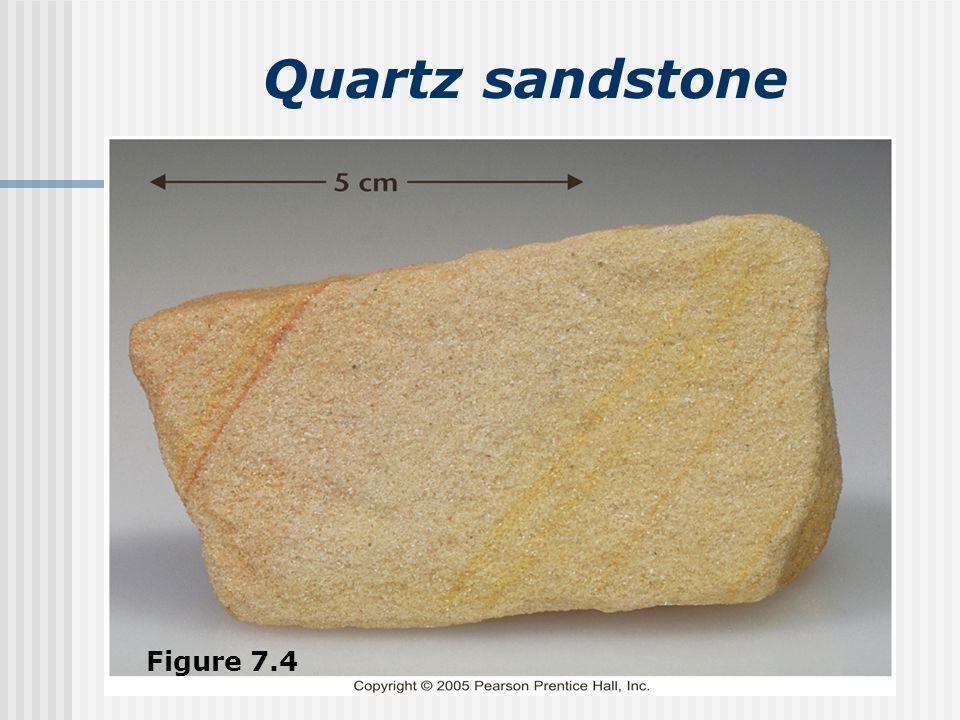 Quartz sandstone Figure 7.4