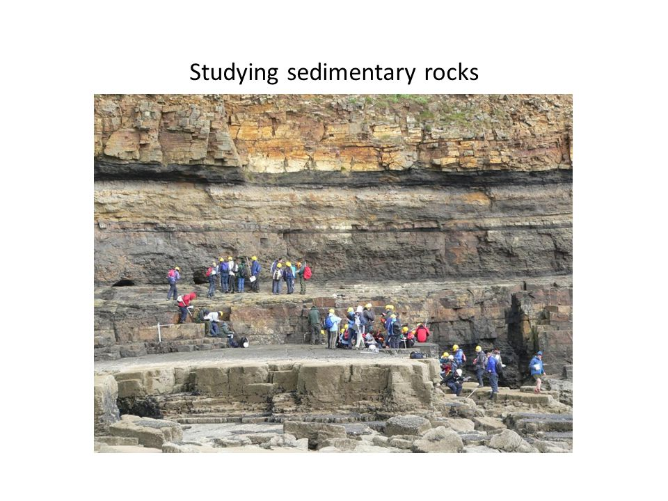 Studying sedimentary rocks