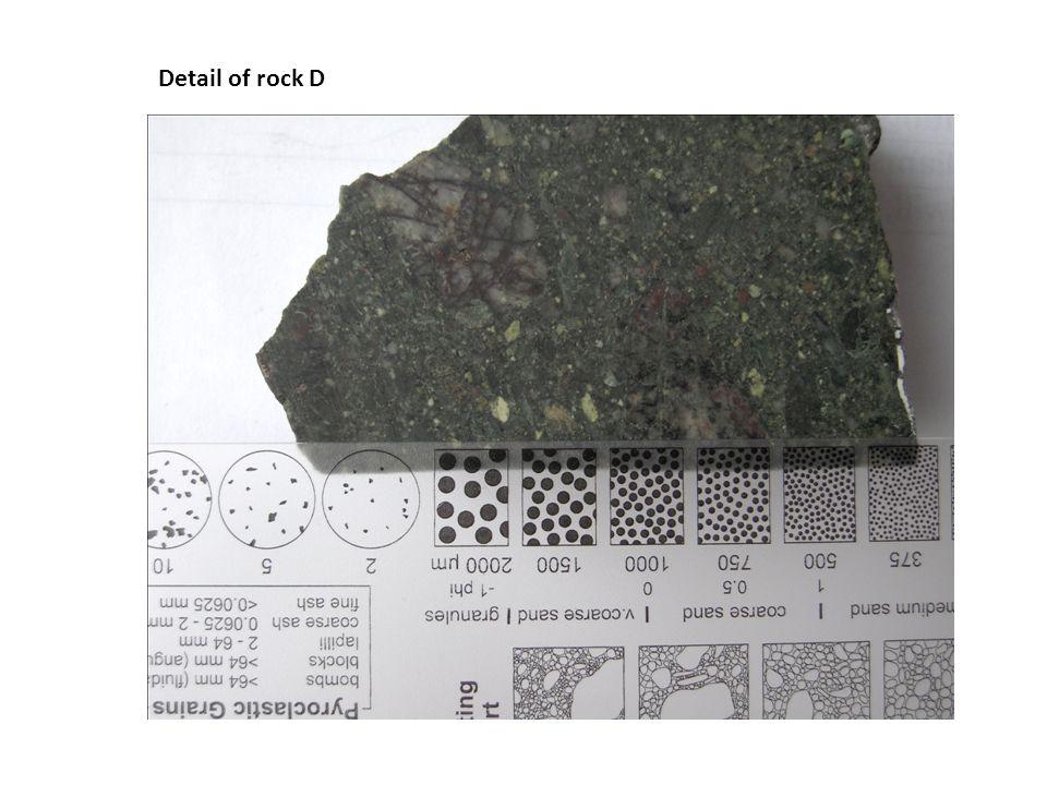 Detail of rock D