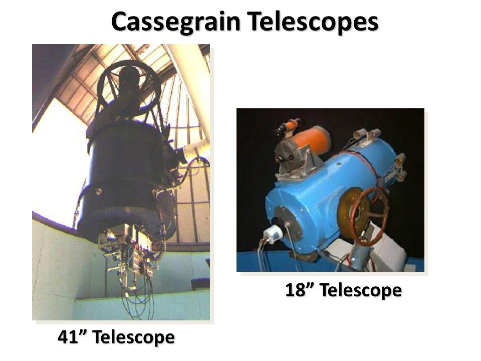 """Cassegrain Telescopes 41"""" Telescope 18"""" Telescope"""