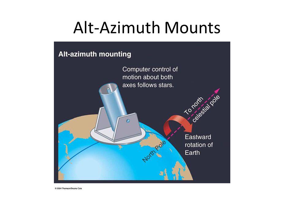 Alt-Azimuth Mounts