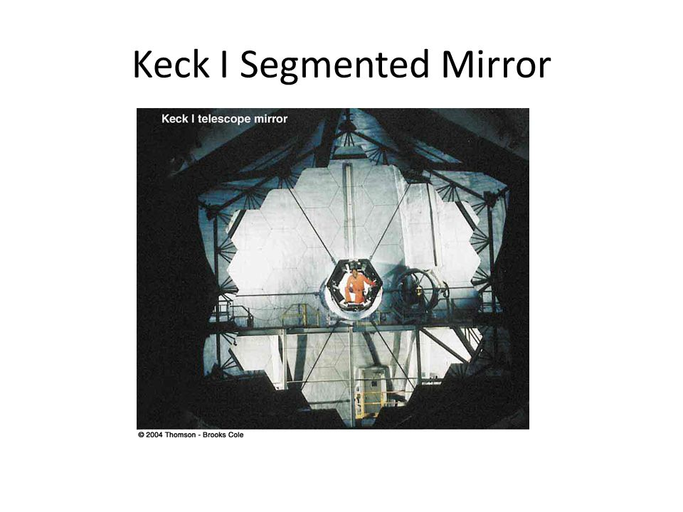 Keck I Segmented Mirror