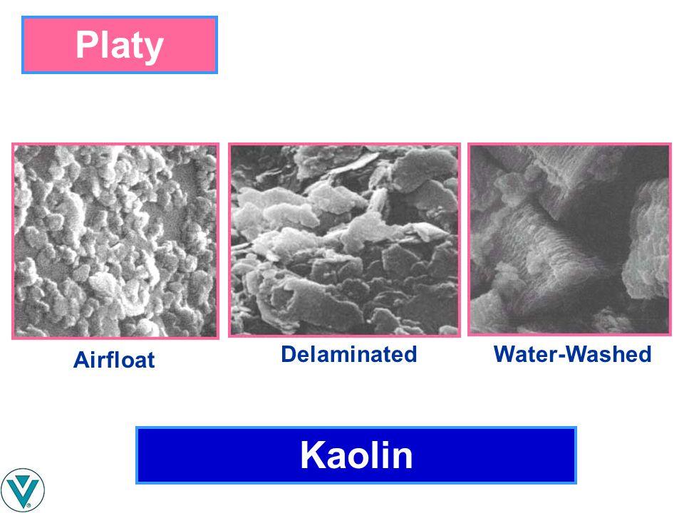 Kaolin Platy Airfloat Water-WashedDelaminated