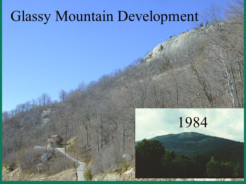 Glassy Mountain Development 1984