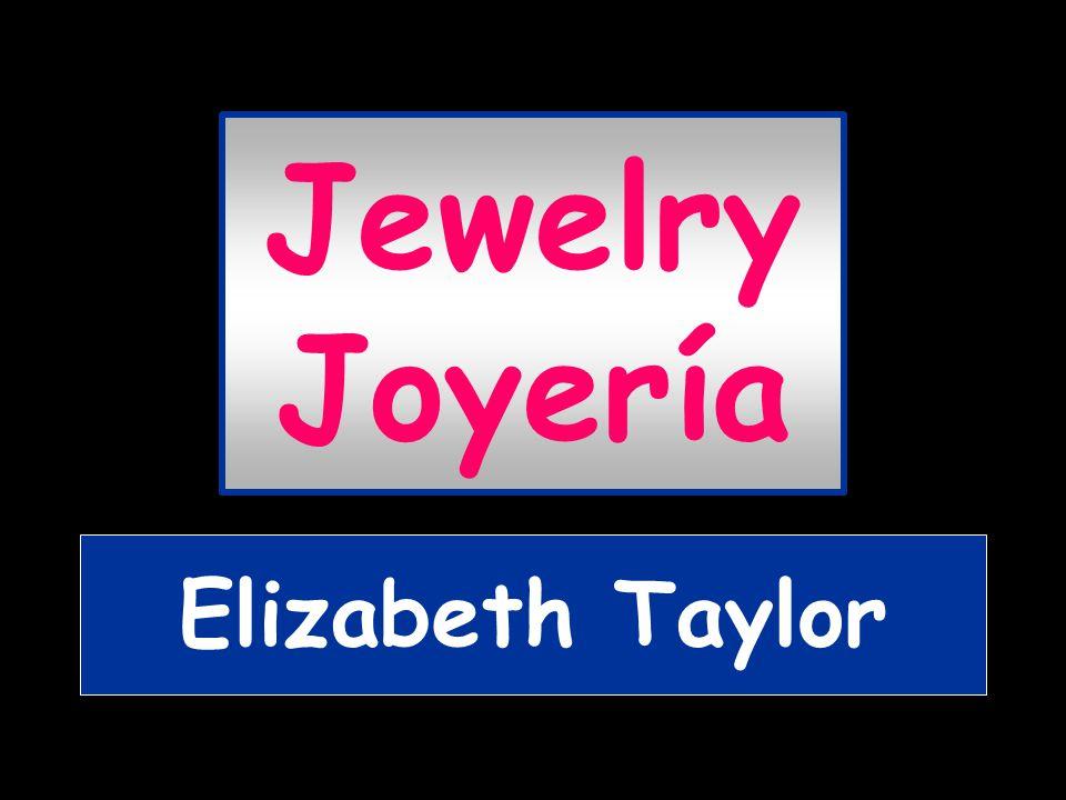 Jewelry Joyería Elizabeth Taylor