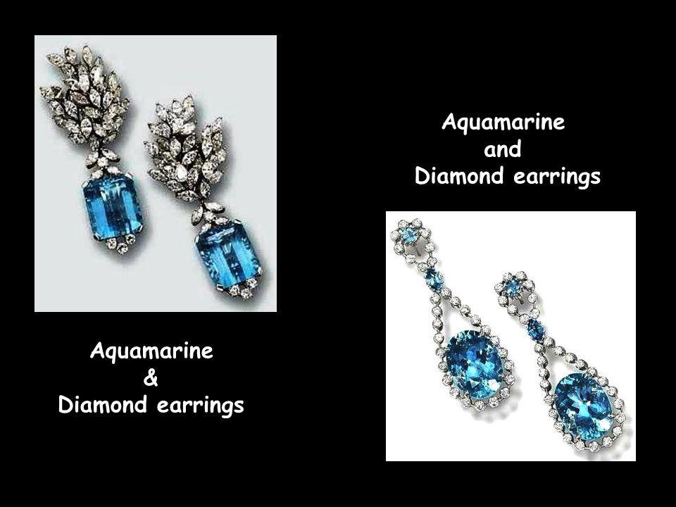 Antique Emerald & Diamond necklace, c. 1860 Amethyst, Sapphire & Diamond earrings