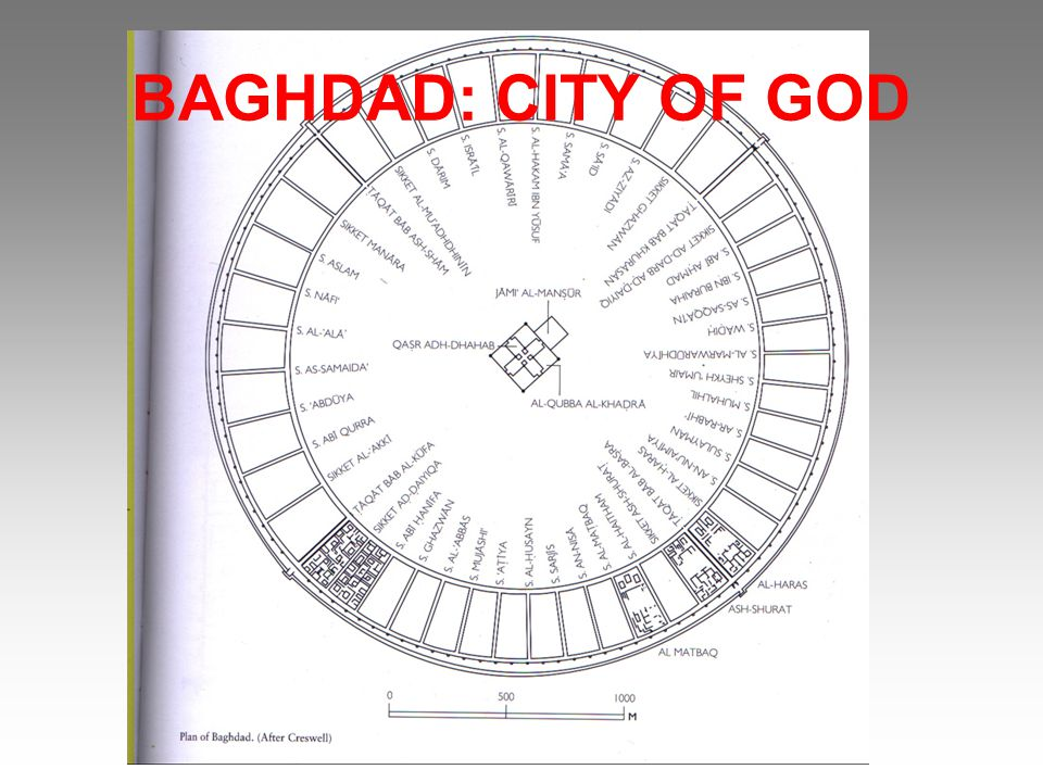 BAGHDAD: CITY OF GOD