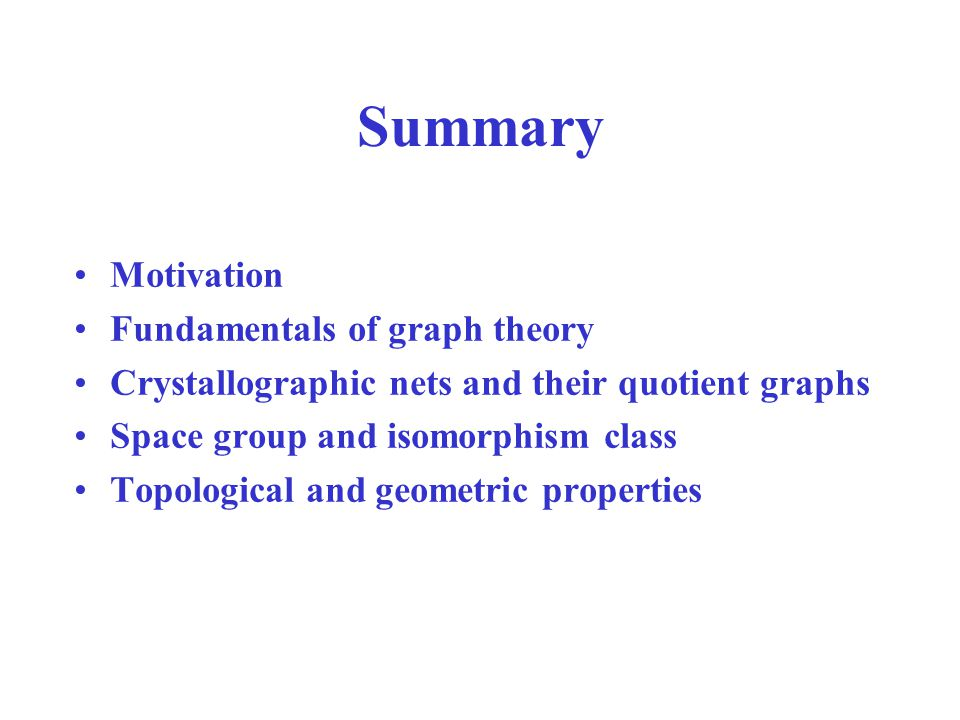 Aut(G): group of automorphisms Automorphism: isomorphism of a graph on itself.