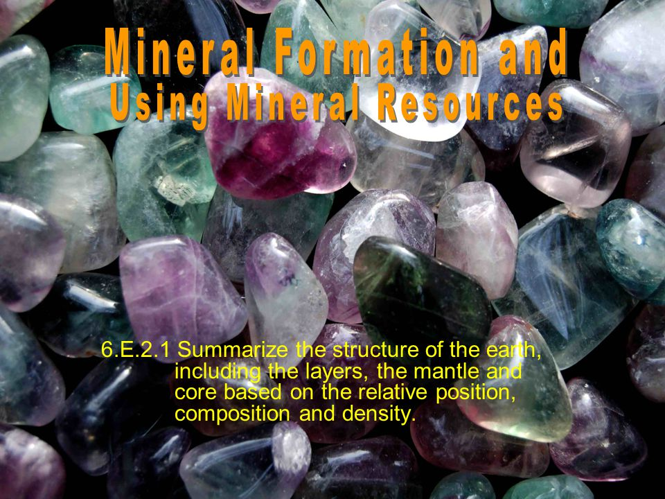 Other Useful Minerals There are many other useful minerals besides metals and gems.
