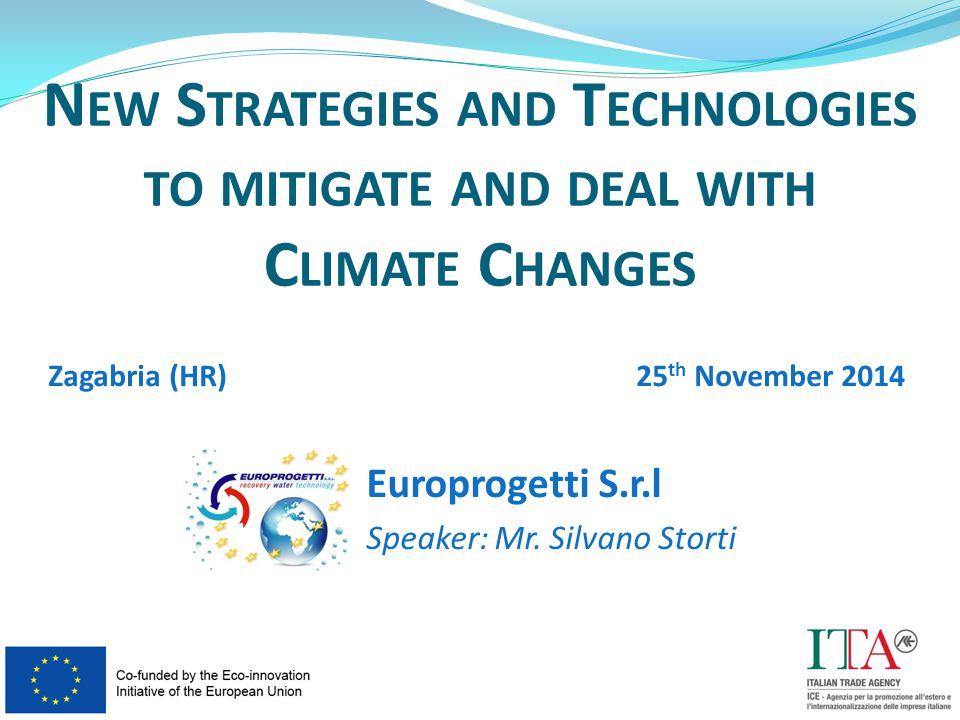 Europrogetti S.r.l Speaker: Mr.