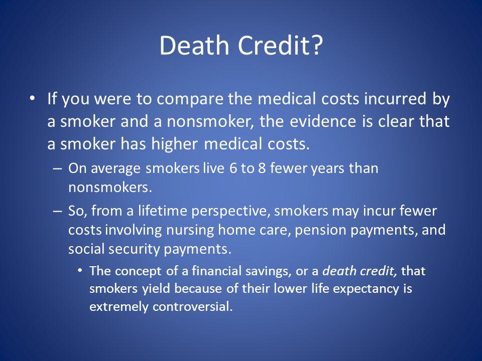 Death Credit.