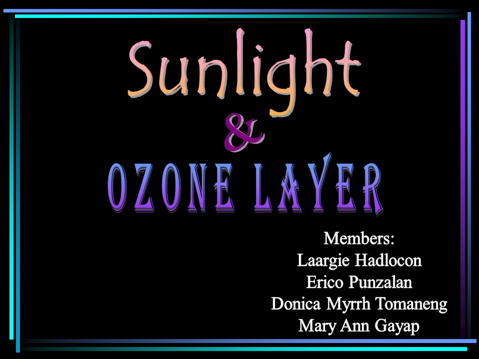 Ozone Layer if CFCs hadn't been banned