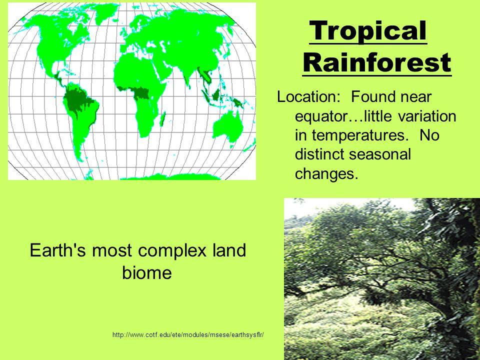 Steppe Abiotic Factors www.plasmacy.de www.wsu.edu <50 in/year precipitation Mountains often play a role in climate characteristics