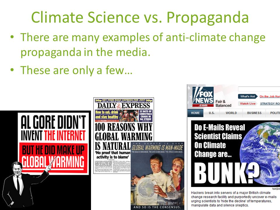 Climate Science vs.