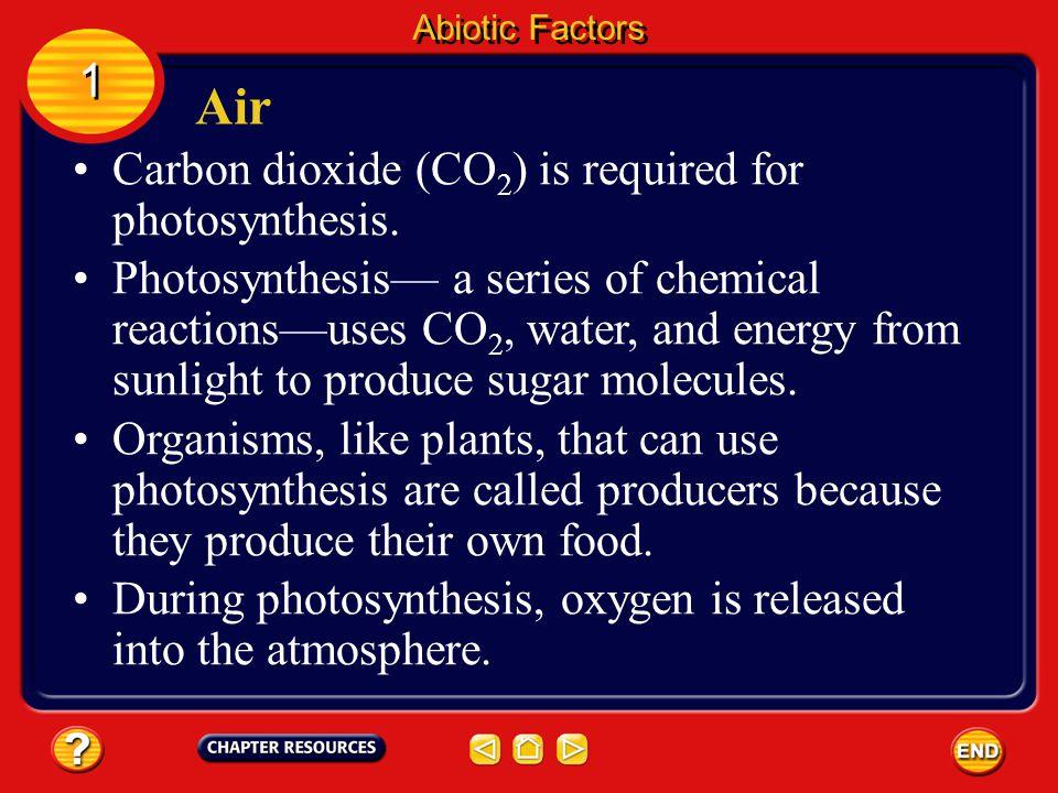 Latitude Abiotic Factors 1 1 Polar regions receive less of the Sun's energy than equatorial regions.