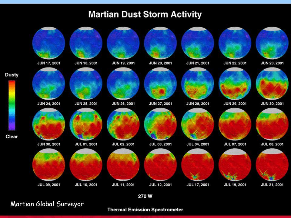 Alan Robock Department of Environmental Sciences Martian Global Surveyor