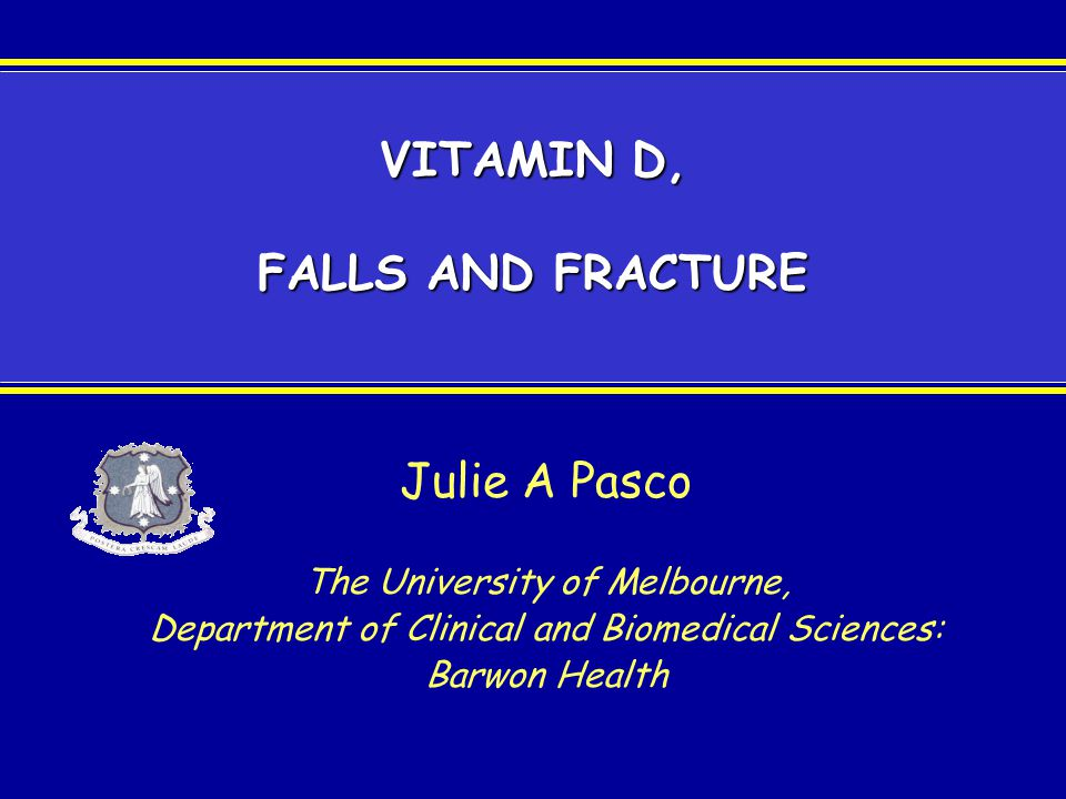 The term vitamin D encompasses two molecules: Cholecalciferol (vitamin D 3 ) –formed in skin through action of UV light on 7- dehydrocholesterol to produce cholecalciferol Ergocalciferol (vitamin D 2 ) –produced by UV irradiation of the plant steroid ergosterol –major form of supplemental vitamin D currently available in Australia (eg Ostelin) Vitamin D