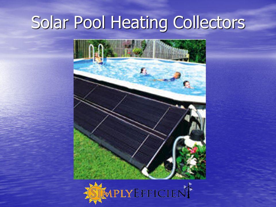 Solar Pool Heating Collectors