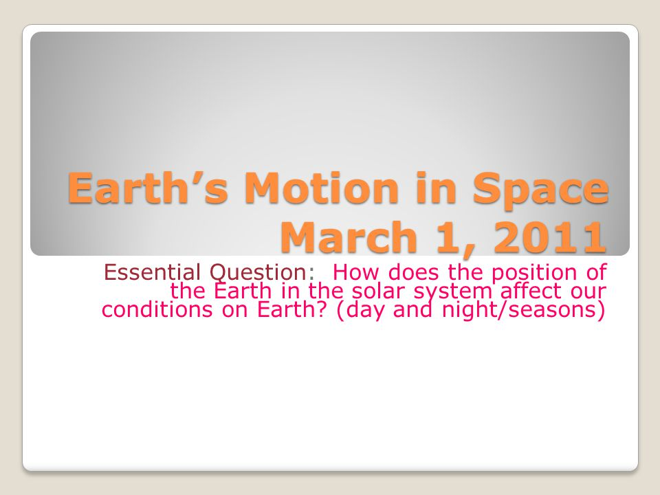 Indicators (B.22) Explain the cause of day and night based on the rotation of Earth on its axis.