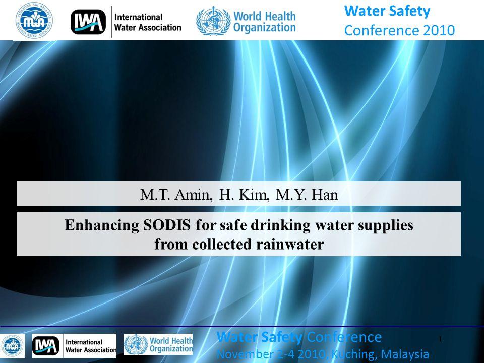 1 Water Safety Conference November 2-4 2010, Kuching, Malaysia M.T.