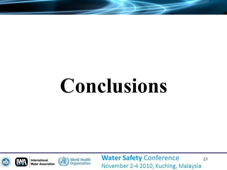 23 Water Safety Conference November 2-4 2010, Kuching, Malaysia