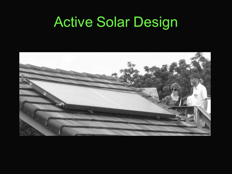 Active Solar Design