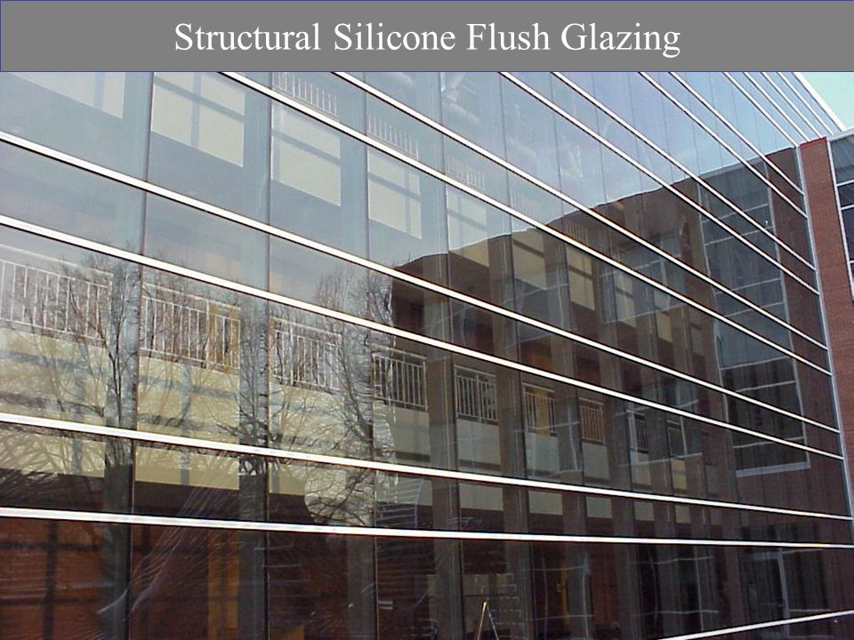 Structural Silicone Flush Glazing