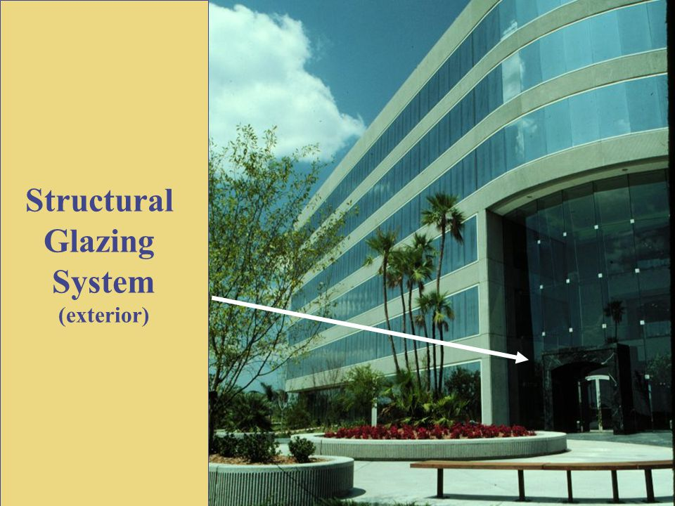 Structural Glazing System (exterior)