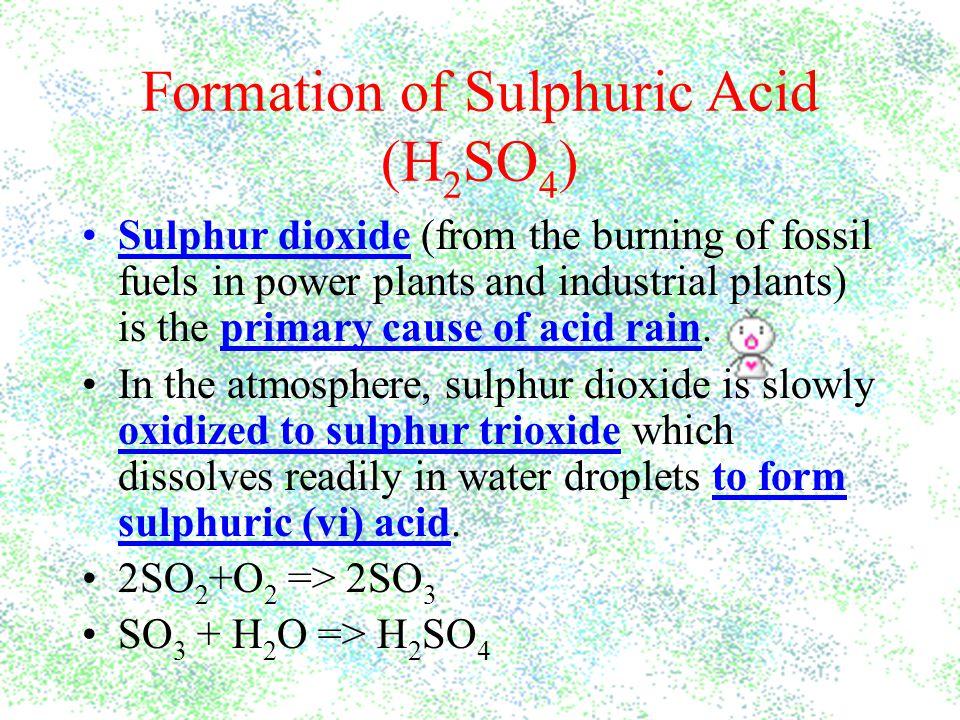 How do we Reduce Acid Rain.