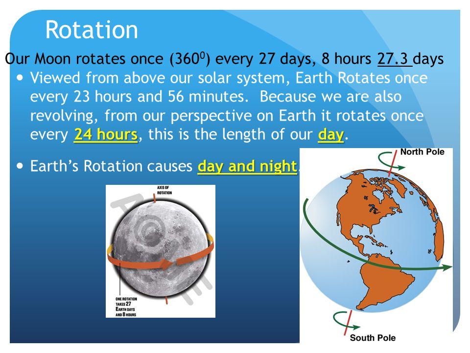 Revolution Revolution is a planets movement around a star or a moons movement around a planet.