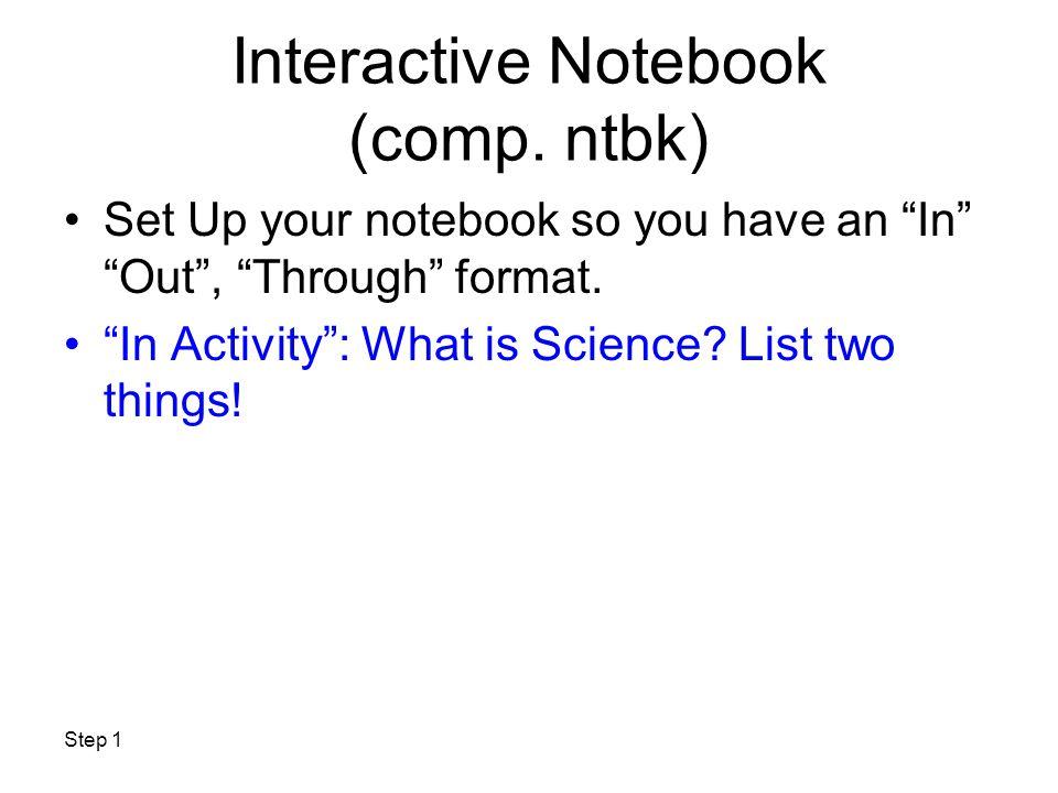 SCIENTIFIC METHOD NOTES Name_____________ Per______Date_____