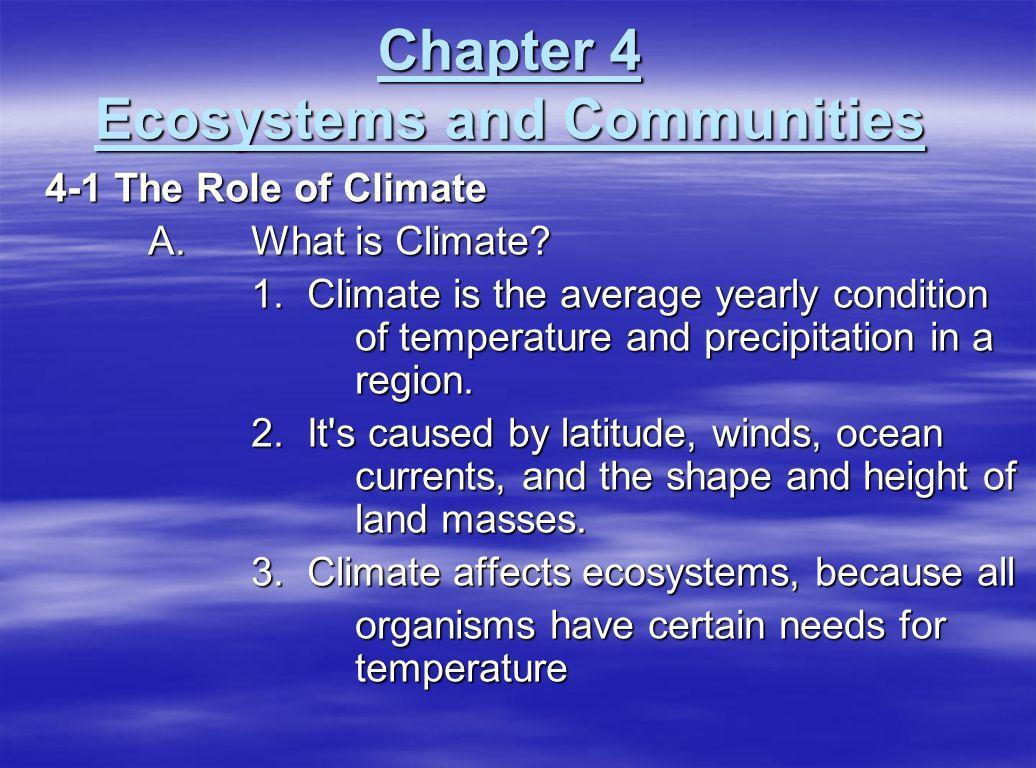 D.Ecological Succession 1.
