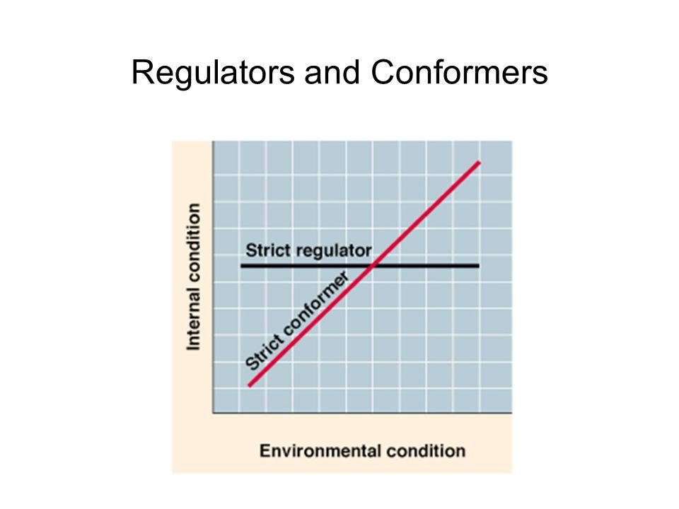 Regulators and Conformers