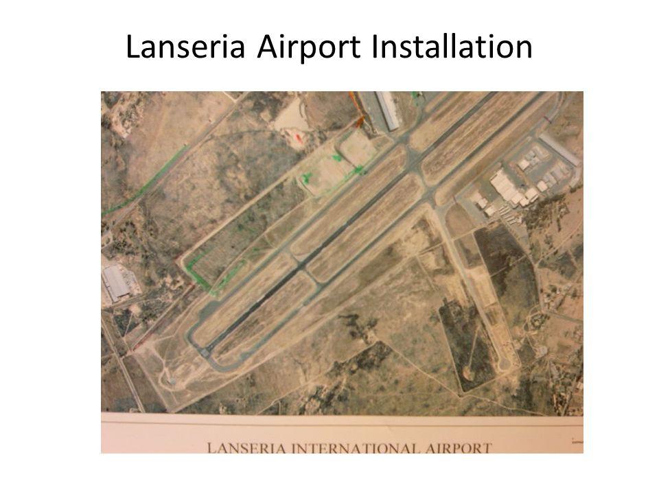 Lanseria Airport Installation