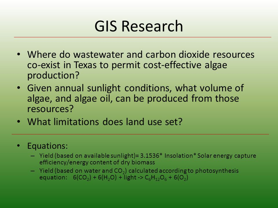 Wastewater and CO 2 Sources in Texas
