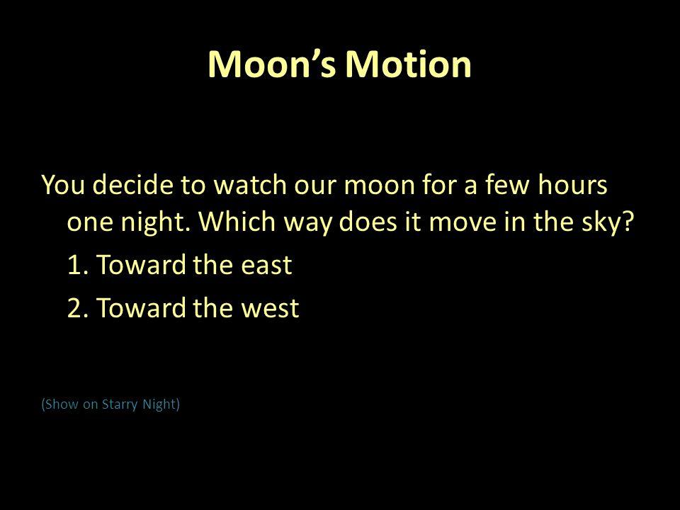 Sun Earth Sunlight NOT TO SCALE Moon's Orbit A B C D E 13.
