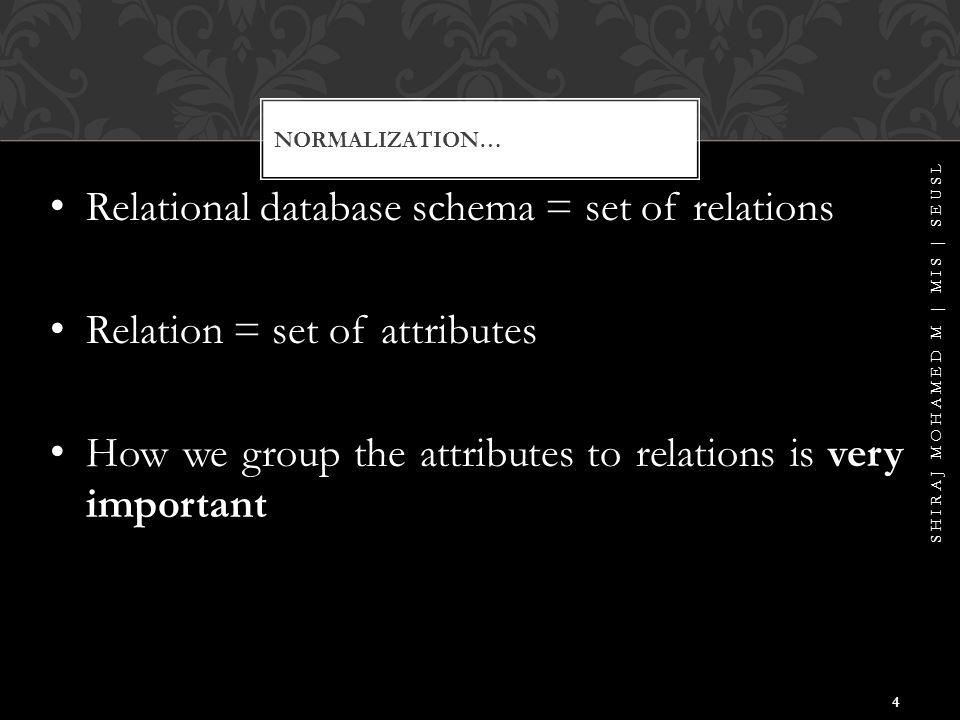ED1 ED2 EXAMPLE02… ENAMESSNBDATEADDDNUM DNAMEDMGR SHIRAJ MOHAMED M | MIS | SEUSL 25