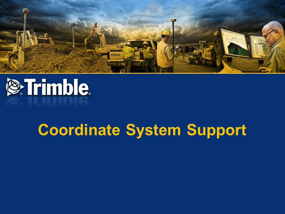 Coordinate System Support