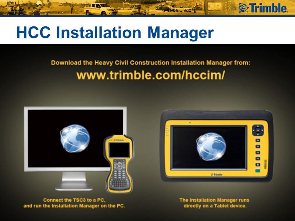 HCC Installation Manager