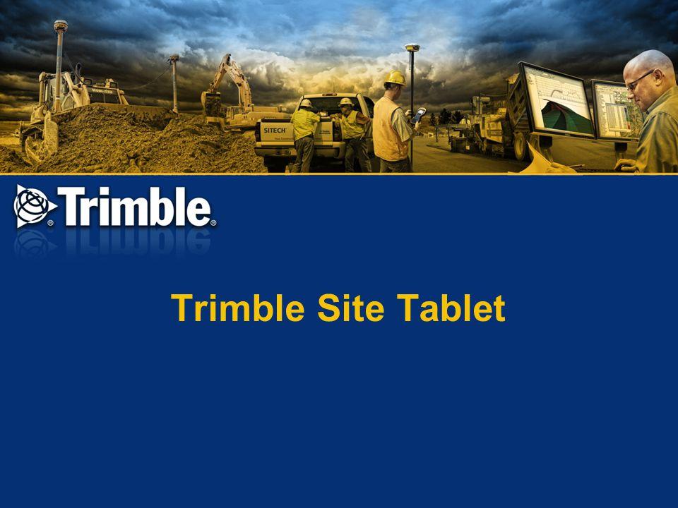 Trimble Site Tablet