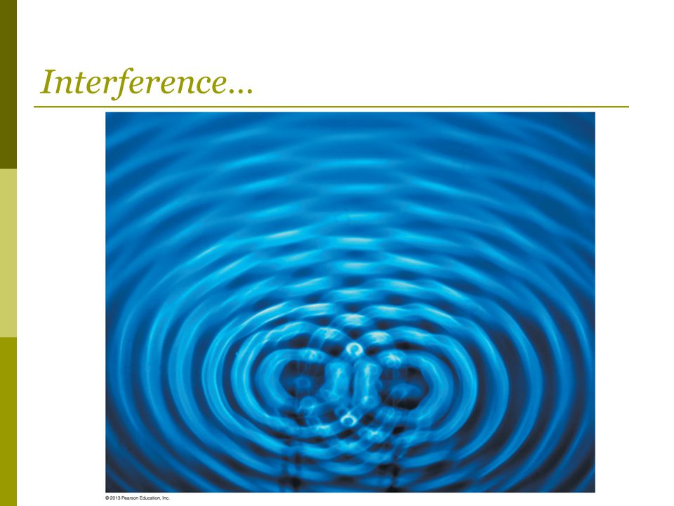 Interference…