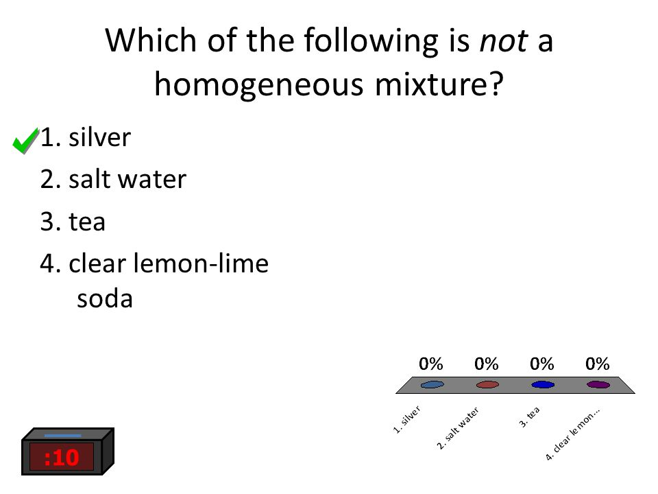 Which of the following is not a homogeneous mixture.