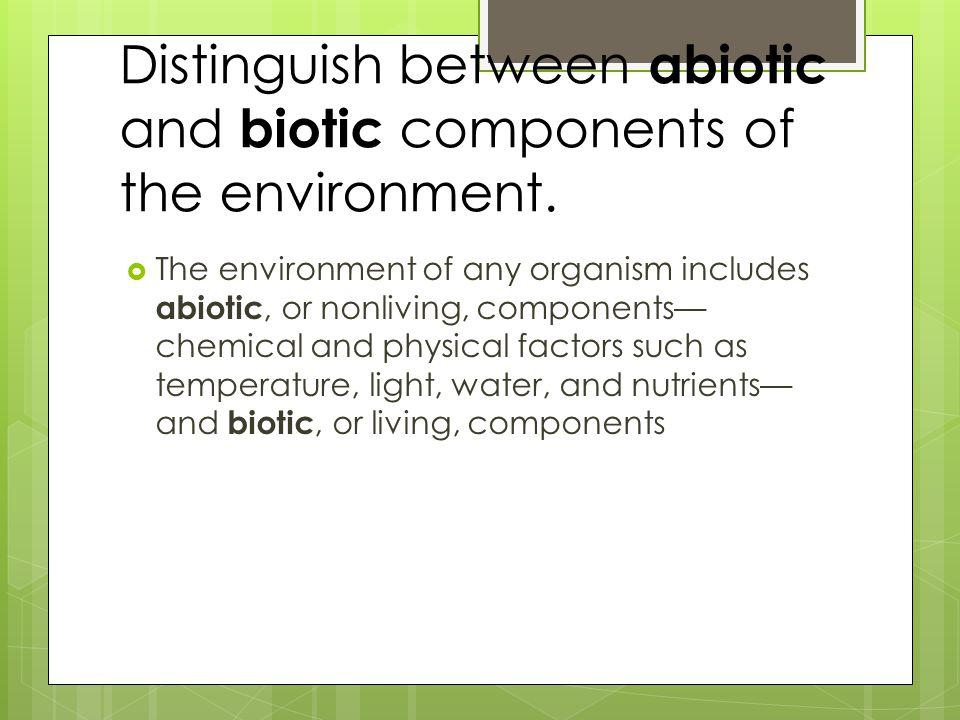 Distinguish among organismal ecology, population ecology, community ecology, ecosystem ecology, and landscape ecology.