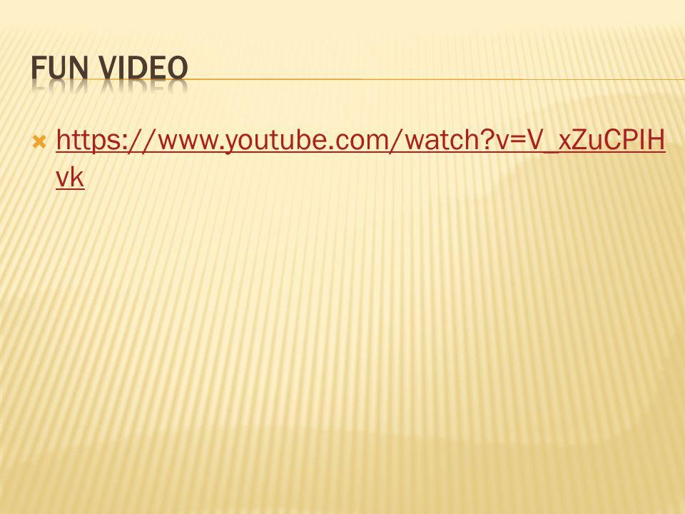 https://www.youtube.com/watch?v=V_xZuCPIH vk https://www.youtube.com/watch?v=V_xZuCPIH vk