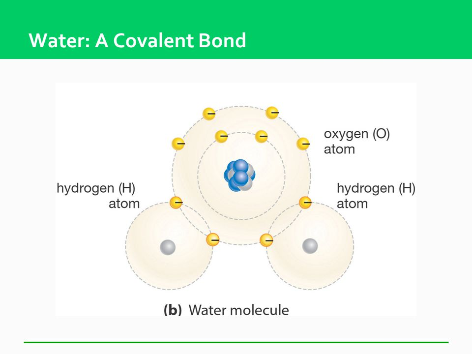 Covalent Bonds  Sharing of electrons Electrons travel in the orbitals of both atoms  Each atom fills out the outermost energy level