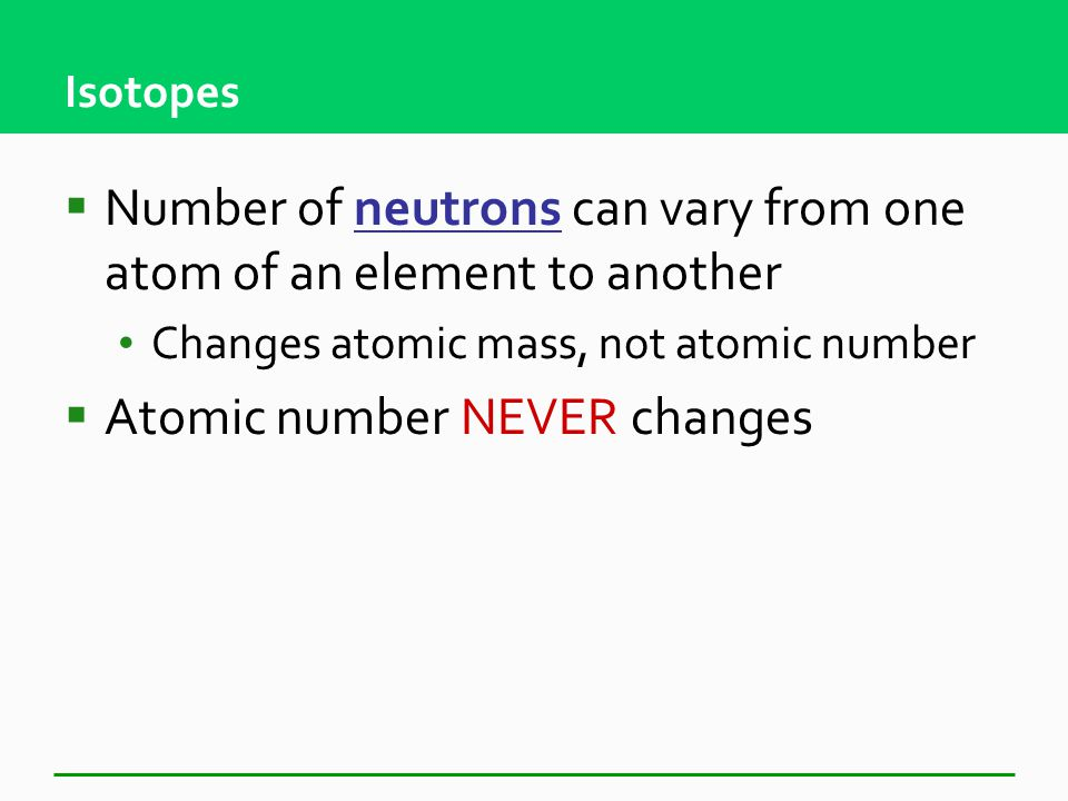 Science, Matter, Energy, and Systems Chapter 2 – Part 4 Isotopes and Nuclear Reactions