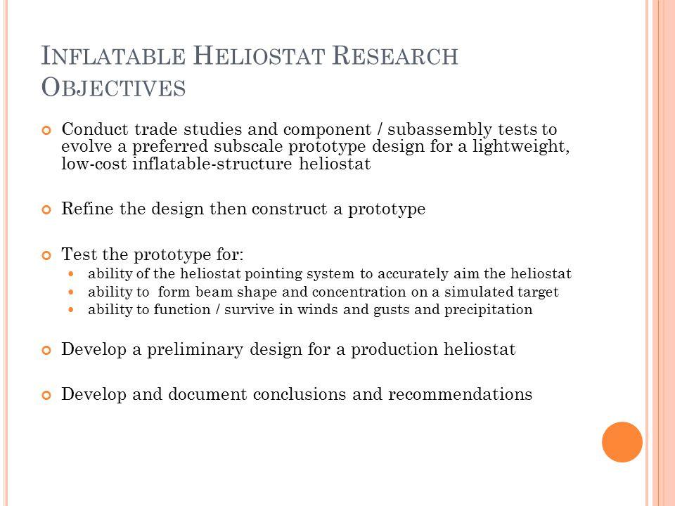I NFLATABLE H ELIOSTAT V1.0