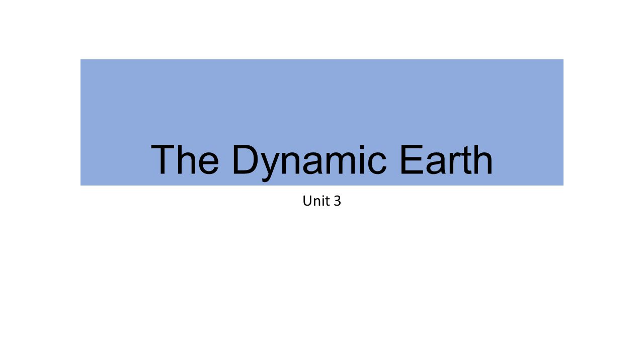 3-1 The Earth as a System The Earth is an integrated system that consists of rock, air, water, and living things that all interact with each other.